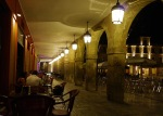 The arches of Main square by night - León, Spain (15)