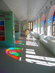 Colourful reflections in the Leon Tourist Information Centre - Leon, Spain (22)