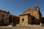 Church of Our Lady of the Pilgrimage, taken from the cobbled Grain square - Leon, Spain (27)