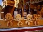 Bread men adorning a bakery window - Leon, Spain (35)