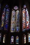 Stained glass window in Catedral de León - León, Spain (8)