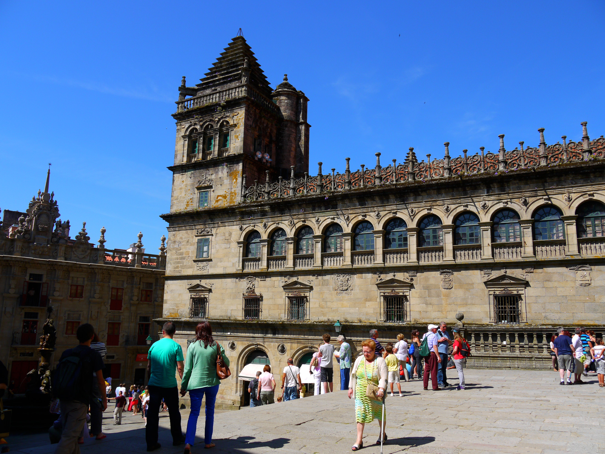 Hitchhikers By Side Of Road >> Santiago de Compostela, Spain | Hitch-Hikers' Handbook