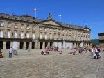 Rajoy Palace, taken Obradoiro Square - Santiago de Compostela, Spain