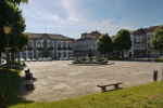 View across Municipal square, with Pelican fountain and Braga Municipal Palace - Braga, Portugal (32)
