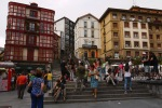 The beginning of the Mallona steps, taken on Miguel of Unamuno square - Bilbao, Spain (38)