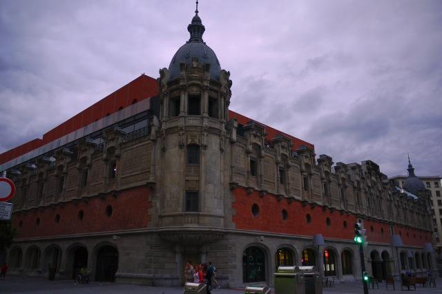 The modernist Alhóndiga, as seen from Recalde Aldapa - Bilbao, Spain (68)