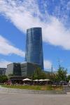 The glass behemoth Iberdrola Tower as seen from Muelle Evaristo Churruca - Bilbao, Spain (76)