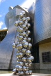 Tall Tree & The Eye (2009) by Anish Kapoor, next to the Guggenheim Museum - Bilbao, Spain (80)