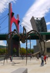 "Spider sculpture ""Maman"" (1999) by Louise Bourgeois and La Salve Bridge, on Campa de los Ingleses Kaia, next to the Guggenheim Museum - Bilbao, Spain (86)"