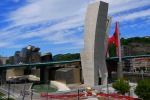 La Salve Bridge and the Guggenheim Museum as seen from Mazarredo Aldapa - Bilbao, Spain (97)