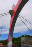 The red arch over La Salve Bridge - Bilbao, Spain (99)