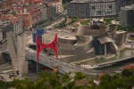 The Guggenheim Museum and La Salve bridge, as seen from Mount Artxanda - Bilbao, Spain (112)
