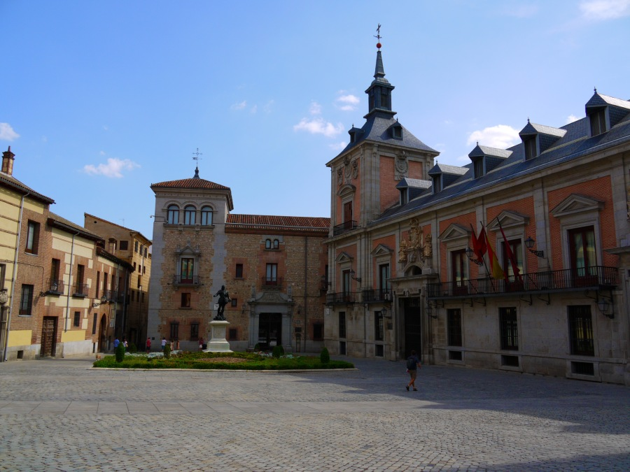 Square of the Villa, the oldest square in the city - Madrid, Spain (30)