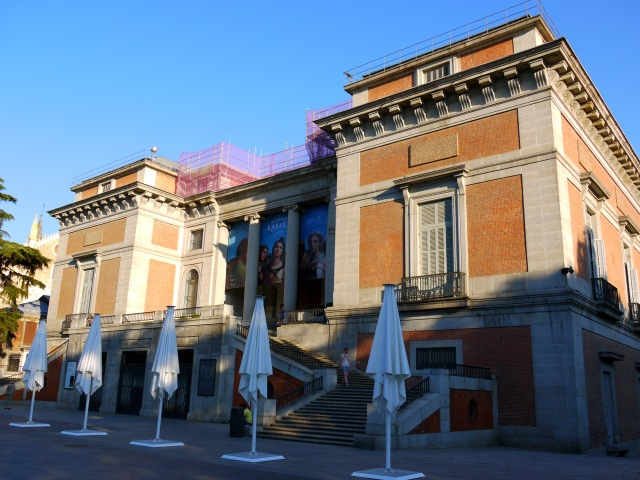 The Goya Gate and ticket office of the Museo Nacional del Prado - Madrid, Spain (108)