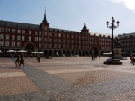 Day shot of the relatively empty Plaza Mayor, the main square of Madrid - Madrid, Spain (14)
