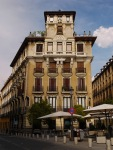 Imperious building on the corner of Calle de Requena - Madrid, Spain (67)