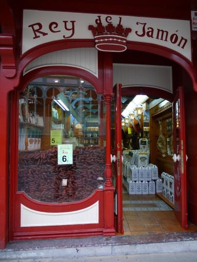 King of Ham butcher's on Calle de Fierro - Oviedo, Spain (19)