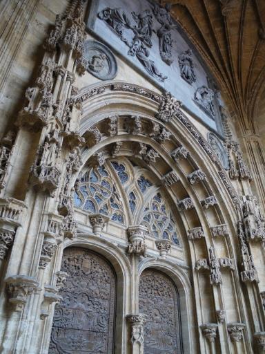 Façade of Catedral de San Salvador de Oviedo - Oviedo, Spain (29)