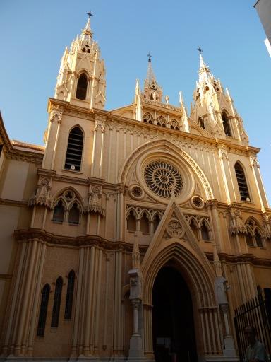 Church of the Sacred Heart taken from Sant Ignacio square - Malaga, Spain (53)