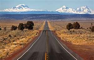 Oregon highway - by Tim Shey