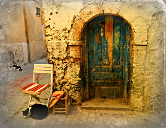 Old door in Essaouira, Morocco - by  Susan Huckaby Parsons, Travel Photography Competition