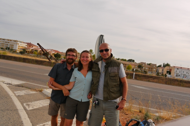 Hitch-hiking in Spain