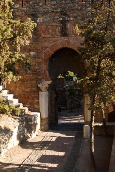 Málaga, Spain (10) - Internal gateway in Alcazaba de Málaga