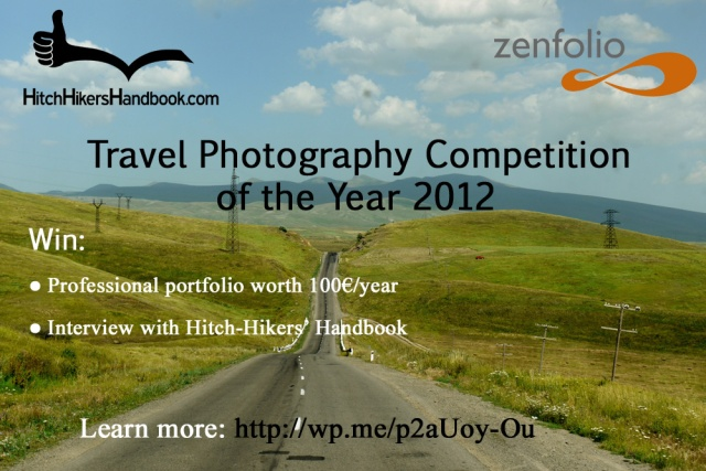 Travel Photography Competition of the Year 2012 - poster small