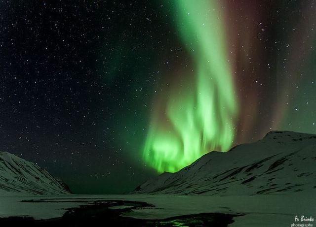 Fr brinks photography - Aurora over Hedinsfjordur,Iceland
