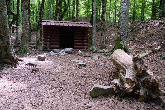 Mountain refugio (shelter) in Valle de Ordesa, Aragon, Spain