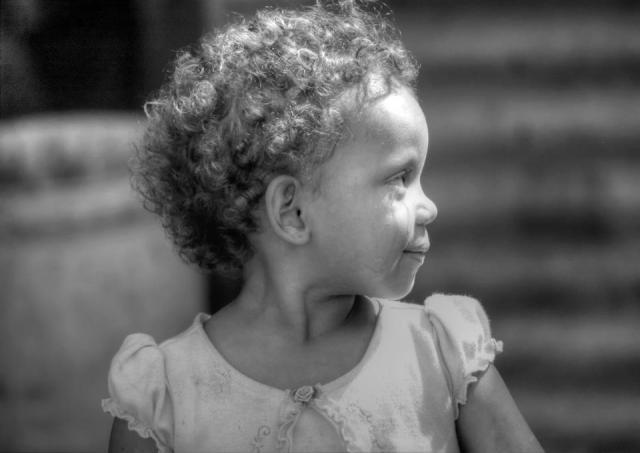 Pam Johnson - Little girls and tears, Trujillo, Colon, Honduras
