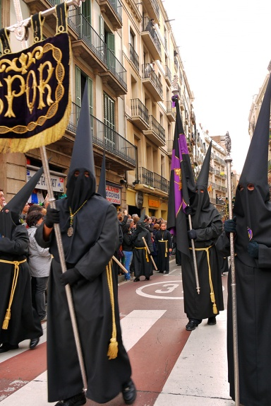 Good Friday Procession, Barcelona, Spain