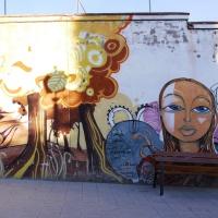 Street art in Granada, Spain