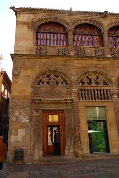 The entrance to Royal Chapel on Calle Oficios - Granada, Spain (122)