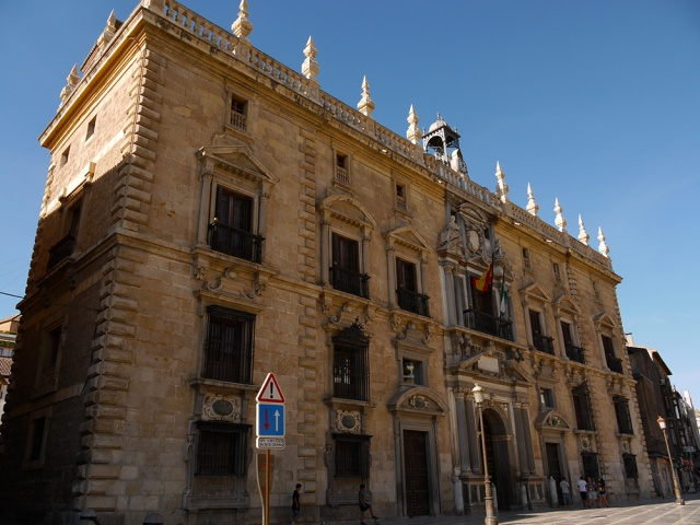 Royal Chancellory of Granada on Plaza del Padre Suárez - Granada, Spain (135)