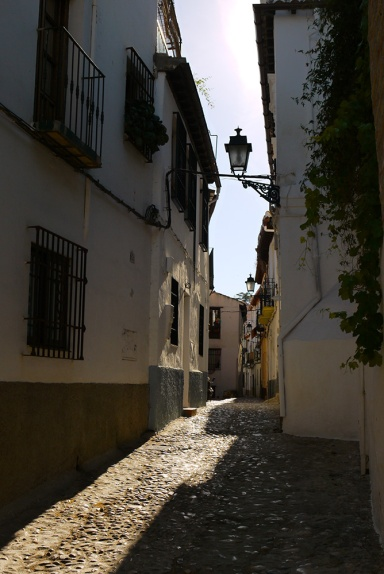 The winding alleys of El Albayzín District - Granada, Spain (149)