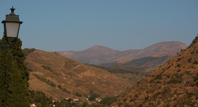 Sierra Nevada mountain range, taken from St. Nicolas Viewpoint in El Albayzín District - Granada, Spain (164)