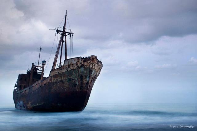 Petros Asimomytis - shipwreck, to the east of the Peloponnese Peninsula, Greece