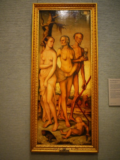 Madrid, Spain (104) The Three Ages of Man and Death by Hans Baldung Grien, Museo Nacional del Prado