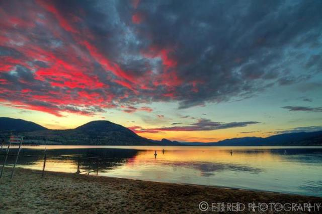 Okanagan Lake, British Columbia, Canada - by Eti Reid Photography