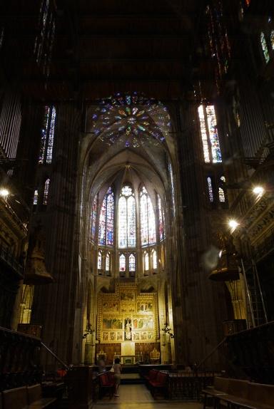 Santa María de León Cathedral, Leon, Spain - interior