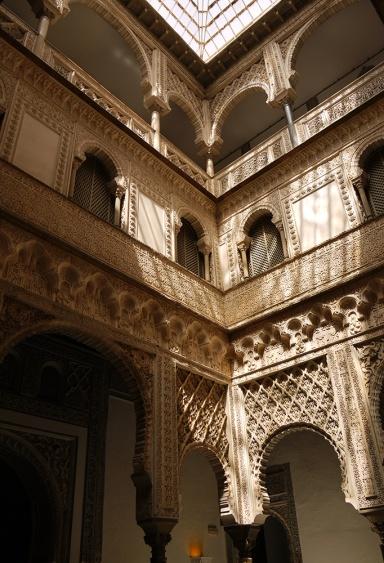Sevilla, Spain (11) - Inside Reales Alcázares de Sevilla - Patio de las Muñecas