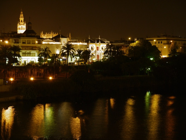 Sevilla, Spain (55) - The waterfront, taken from Puente de Isabel II