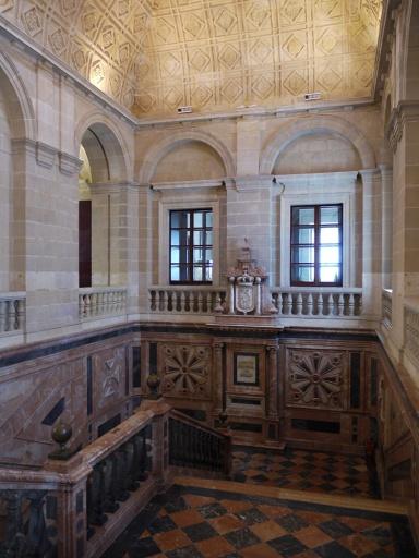 Sevilla, Spain (91) - Stairwell inside Archivo General de Indias