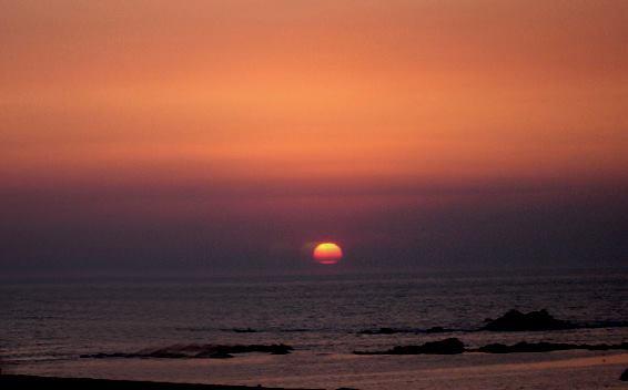 Sunset over Vila do Conde, Portugal - by Rogério Paulo Pedrosa