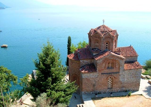 Sveti Jovan at Kaneo, Ohrid, Macedonia