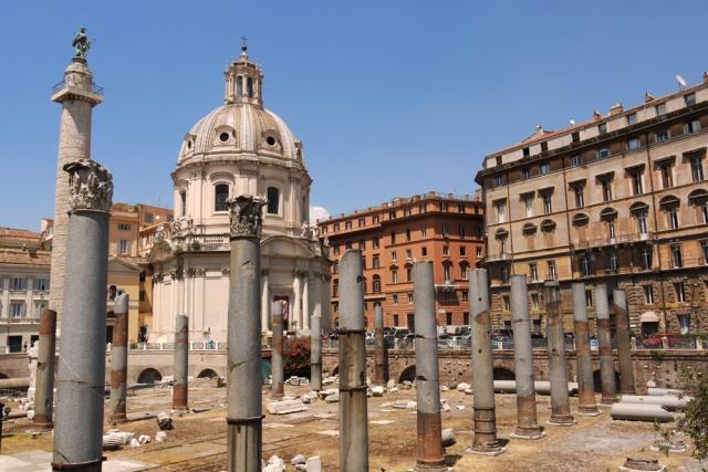 Foro Traiano, Piazza Venezia, Rome, Italy