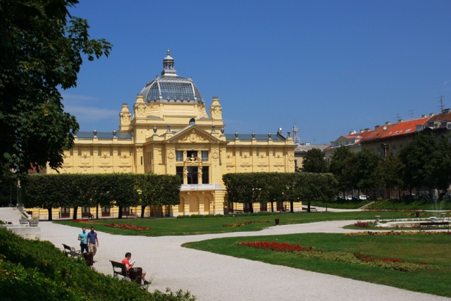 One of Zagreb's museums, Old Town, Zagreb, Croatia