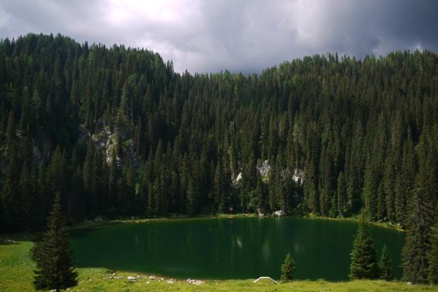 Our hike to Pršivec, Julian Alps, Bohinj, Slovenia - Koča na Planini pri Jezeru
