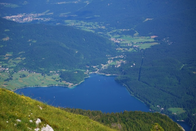 Our hike to Pršivec, Julian Alps, Bohinj, Slovenia - Lake Bohinj